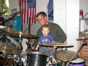 TImm and me on drums