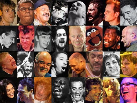 The Funny Faces of Drumming